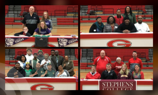 National signing day at Greenville ISD