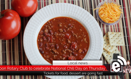 Noon Rotary Club to celebrate National Chili Day – Tickets going fast