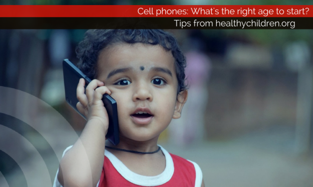 Cell phones: What's the right age to start?