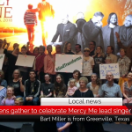 Greenville citizens come together to congratulate MercyMe lead singer, Bart Millard
