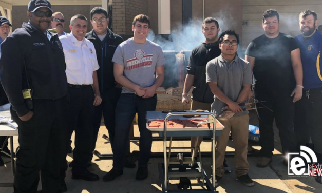 Greenville High School FFA grills for the good guys