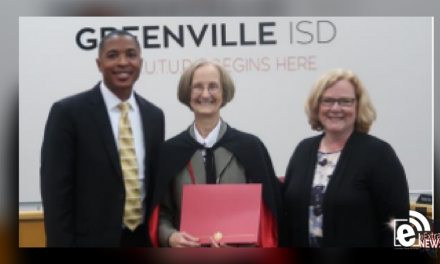 Greenville ISD March 'Hero of Hope'