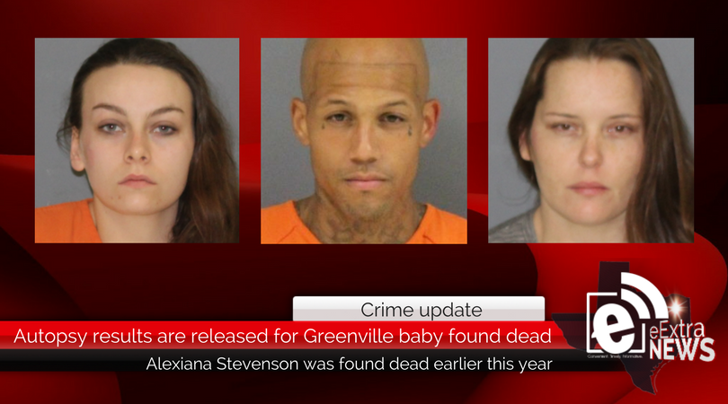 Autopsy results are released for Greenville infant found dead