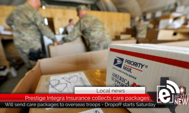 Prestige Integra Insurance collects care packages for overseas troops