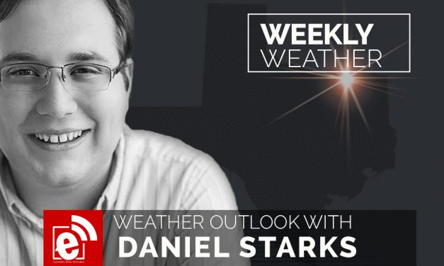 Weekly weather report by Daniel Starks