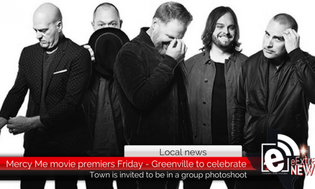 Mercy Me movie premiers Friday – Greenville to celebrate with town photoshoot