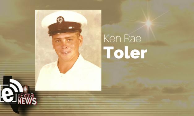 Ken Rae Toler of Greenville, Texas, formerly of Blossom, Texas