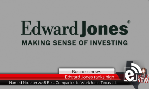 Edward Jones ranks No. 2 for Best Companies to work for in Texas