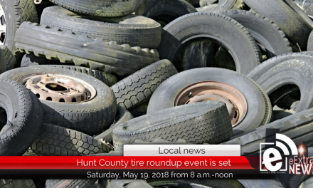 Free tire roundup event slated for Saturday, May 19, 2018
