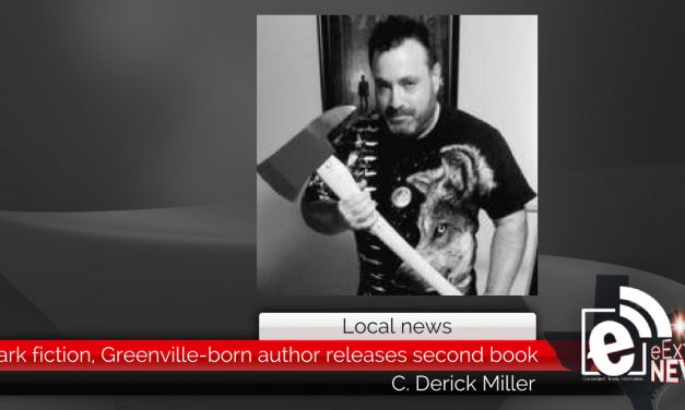 Dark fiction, Greenville-born author releases second book in series