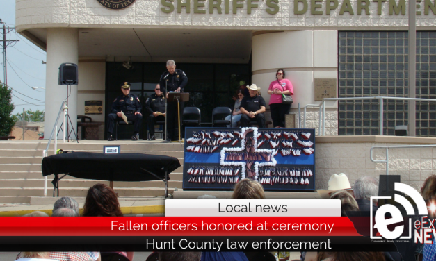 Hunt County fallen officers honored at ceremony today