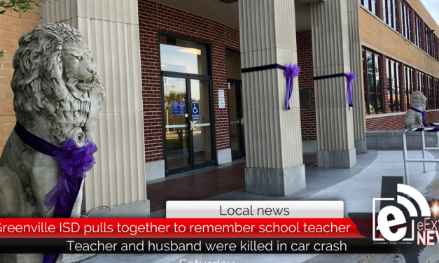 Greenville ISD pulls together to remember school teacher killed in crash