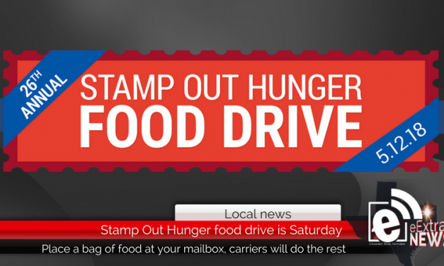 Stamp Out Hunger food drive is Saturday, May 12, 2018