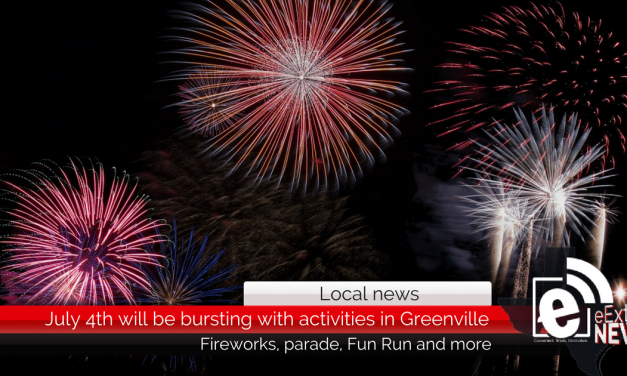 July 4th will be bursting with activities in Greenville