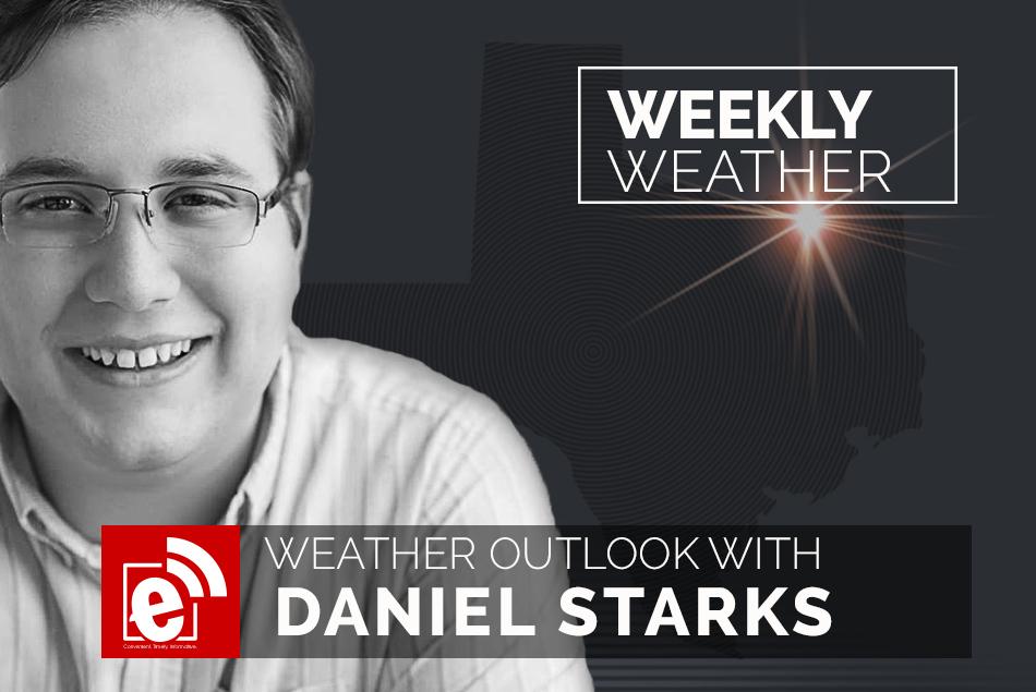 Weekend weather outlook with Daniel Starks    eGreenvilleExtra