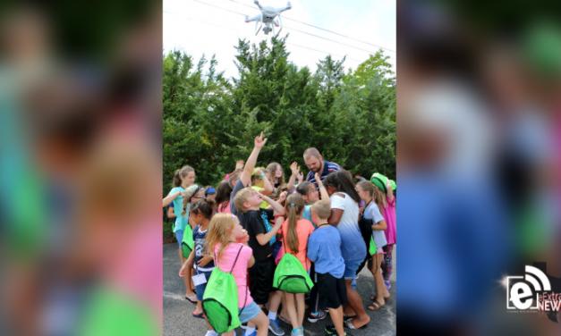 PJC kids college enjoys drone class