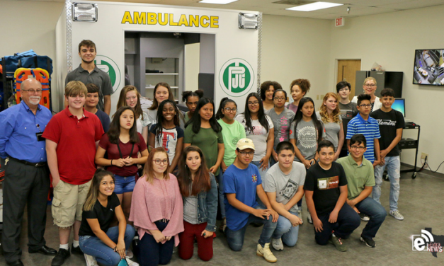 First group in GISD-PJC early college HS tour programs