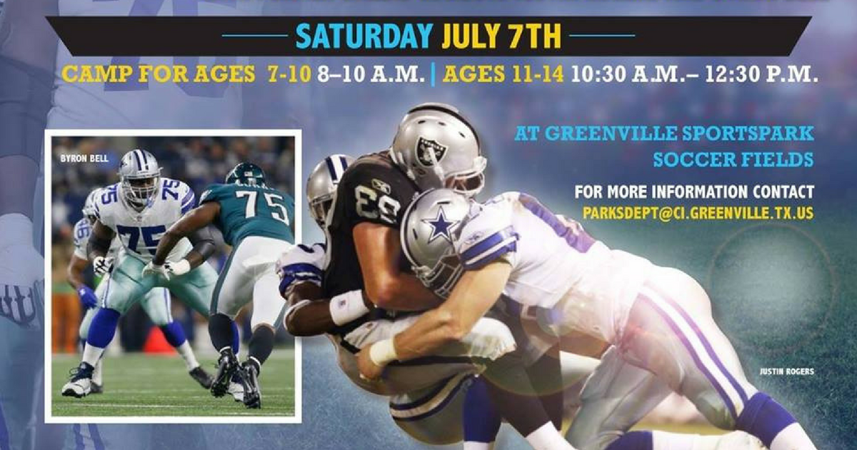 Gridiron greats free football camp
