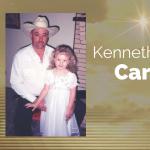 Kenneth Lowell Carson of Celeste, Texas