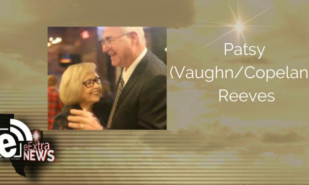 Patsy (Vaughn/Copeland) Reeves of Greenville Texas