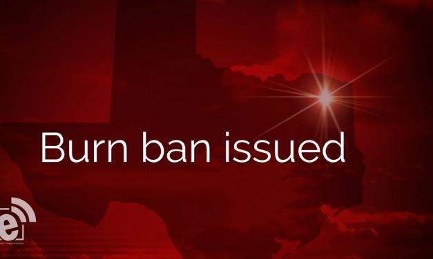 Burn ban enacted for Hunt County