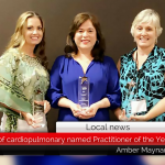HRMC's director of cardiopulmonary named Practitioner of the Year