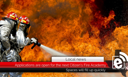 Applications are open for the next Citizen's Fire Academy