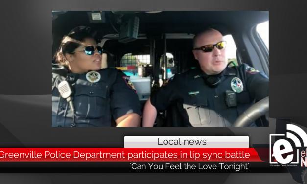 Greenville Police Department participates in lip sync battle