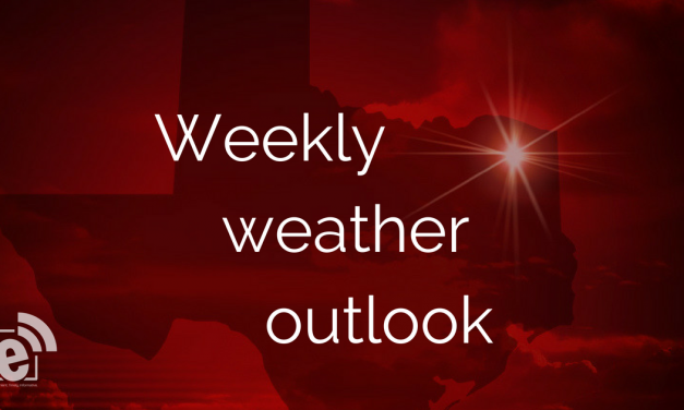 Weekly weather outlook from eGreenville Extra
