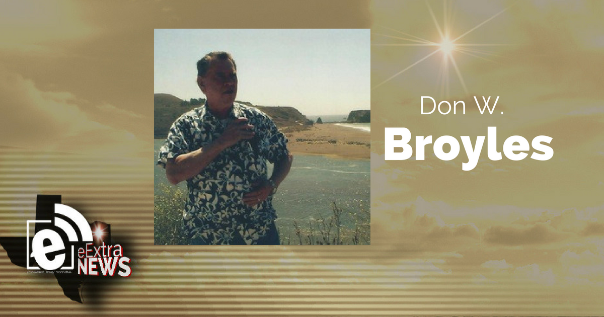 Don W. Broyles of Greenville, Texas