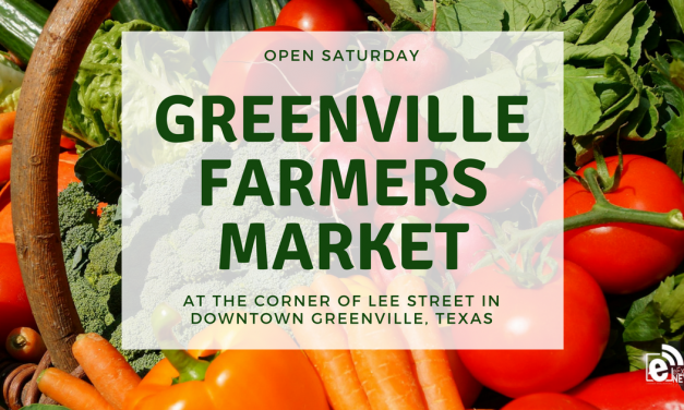 Greenville Farmers Market open Saturday in downtown Greenville