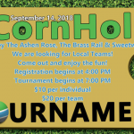 CornHole tournament set for September