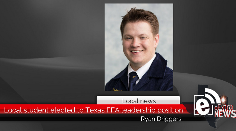 Local student elected to Texas FFA leadership position