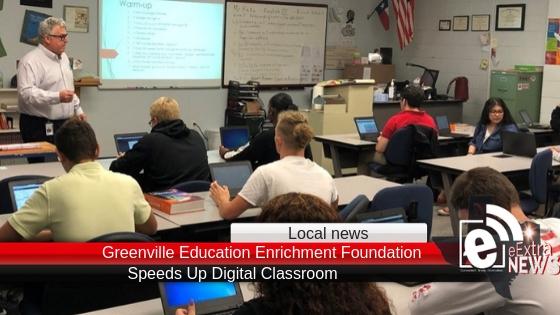GEEF Grant Speeds Up Digital Classroom