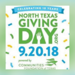 Give a little to help a lot today during North Texas Giving Day