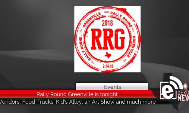 Rally Round Greenville is tonight starting at 3 p.m. at the square