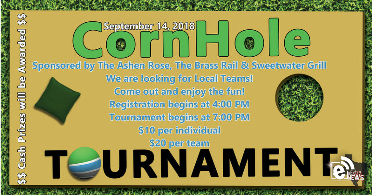 CornHole tournament set for Sept. 14, 2018 in Greenville