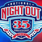 National Night Out set for Tuesday, Oct. 2, 2018 at City Lake Park
