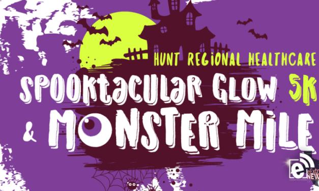 Hunt Regional Healthcare's Spooktacular Glow 5k and Monster Mile are set