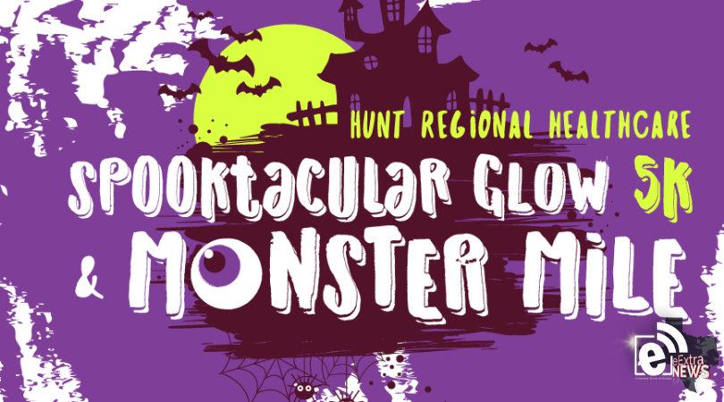 Hunt Regional Healthcare's Spooktacular Glow 5k and Monster Mile are set