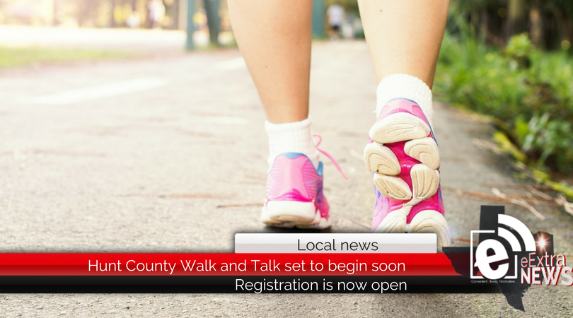 Hunt County Walk and Talk set to begin soon