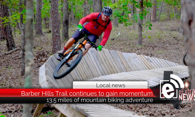 VIDEO || 13.5 miles of mountain biking adventure in Northeast Texas