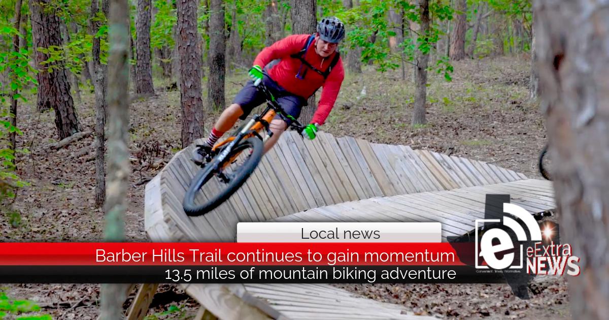 VIDEO || 13.5 miles of mountain biking adventure in Northeast Texas