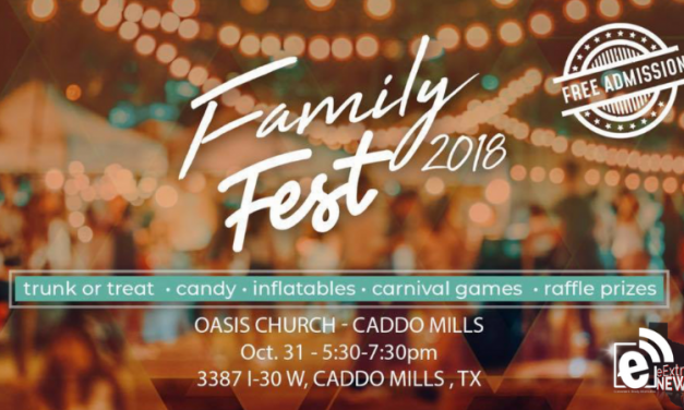 Family Fest 2018 is set for tonight || Oasis Church in Caddo Mills