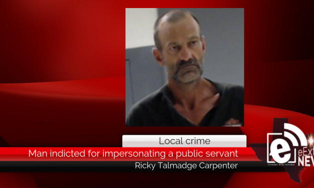 Man indicted for impersonating a public servant || Ricky Talmadge Carpenter