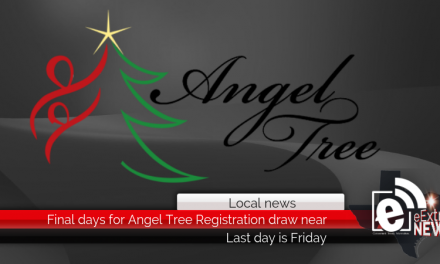 Friday is the final day to register for the Angel Tree program