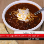 Campbell Volunteer Fire Department to host chili cook-off