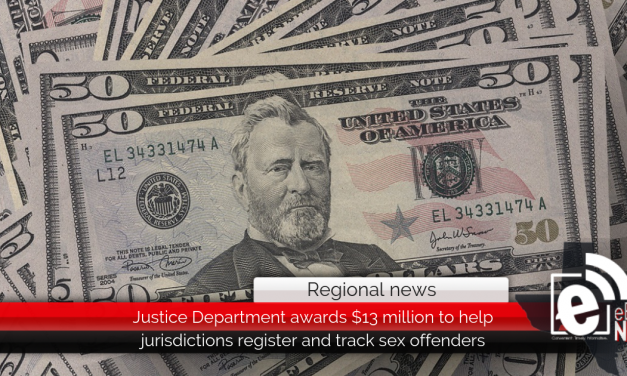 Justice Department awards $13 million to help jurisdictions register and track sex offenders