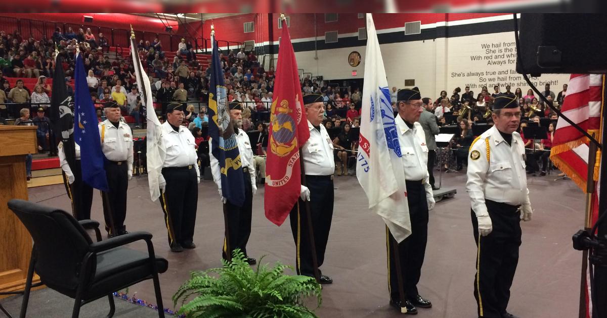 Greenville ISD Veterans Day program set for Monday, November 12