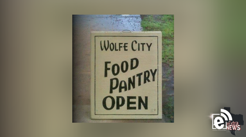 wolfe city food pantry